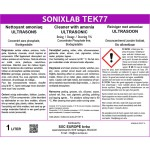 Sonixlab TEK77 intensive ammonia cleaner for coins and jewellery